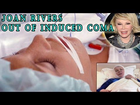 Joan Rivers out of Induced Coma - Joan Rivers remains On Life Support [UPDATE]8/31/2014