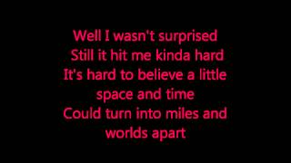 Blake Shelton Video - Blake Shelton- I Found Someone Lyrics