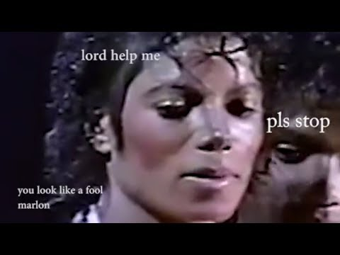 marlon jackson making his brothers uncomfortable for 1 minute straight