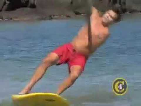 C4 How to Stand Up Paddle Surf Part 1