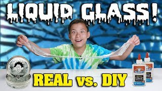 PLAYING WITH LIQUID GLASS!!! DIY vs. REAL!