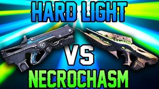 HARD LIGHT VS NECROCHASM (Funny Scotch Tape Challenge In Destiny!!)