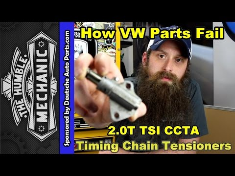 How The 2.0T TSI Timing Chain Tensioner Fails