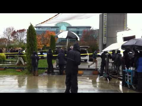 Unknown movie filming scene of FBI at UBC