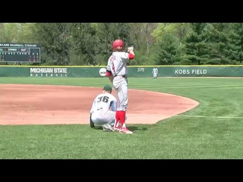 Nebraska at Michigan State - Baseball Highlights