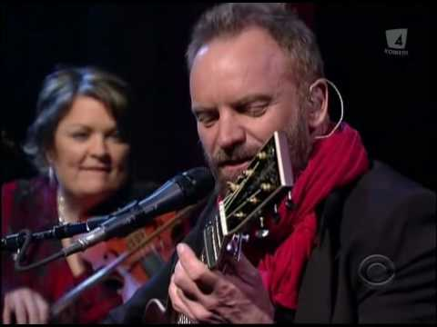 Sting - Soul Cake (Live Letterman 2009).avi Music Videos
