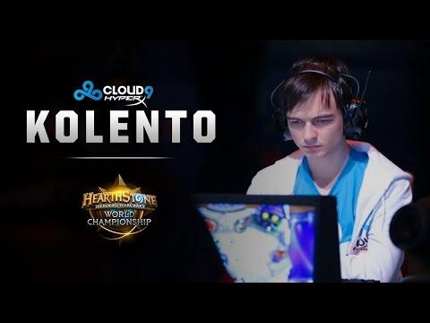 Hearthstone Europe Championship 2014 - Kolento Interview