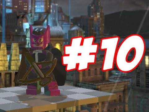 LEGO Batman 2 - LEGO BRICK ADVENTURES - PART 10 - 100 GOLD BRICKS!