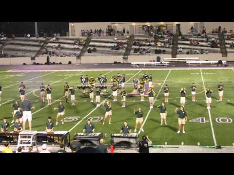 2012 St Edward High School Marching Band  Football Show - Party Rock