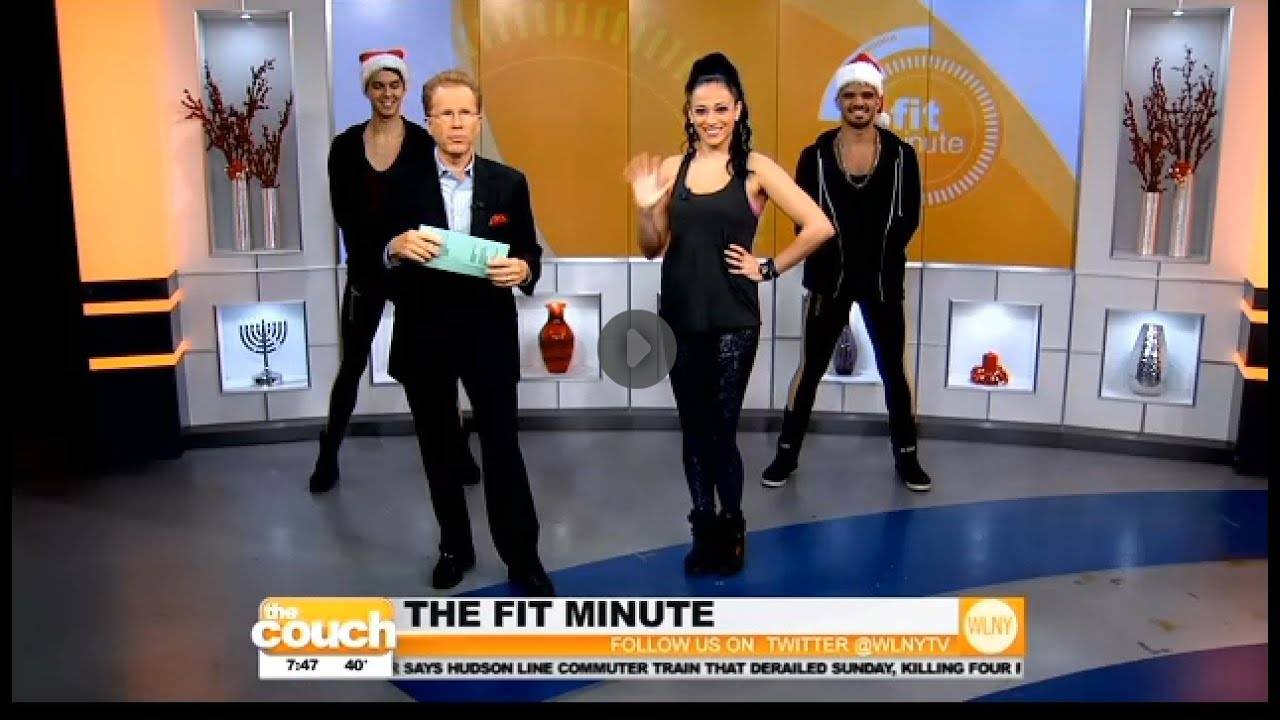 Cherie lily live on cbs new york 39 s tv morning show the for Tv shows to see in new york