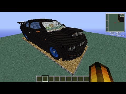 Minecraft piston house tuned ford mustang gt part 2 for Modern house 8 part 3