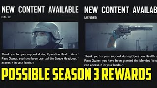 Rainbow Six Siege Possible Season 3 Rewards Hong Kong Polish DLC