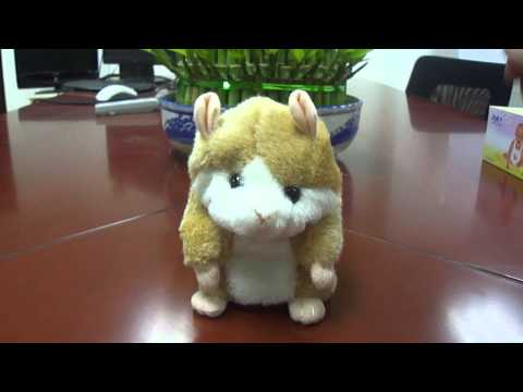 Likable Recording Hamster Toy - Assorted Color
