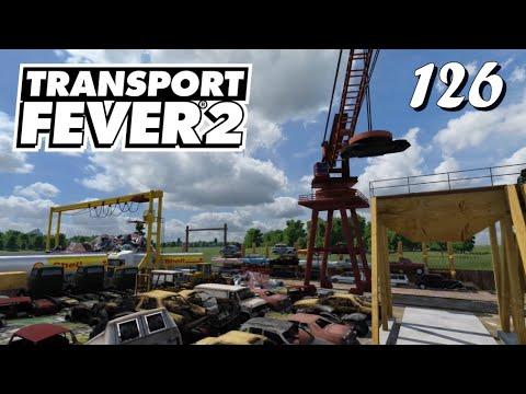 Transport Fever 2 S6/#126: Unser Besuch in der neuen Recycling-Station [Lets Play][Deutsch]