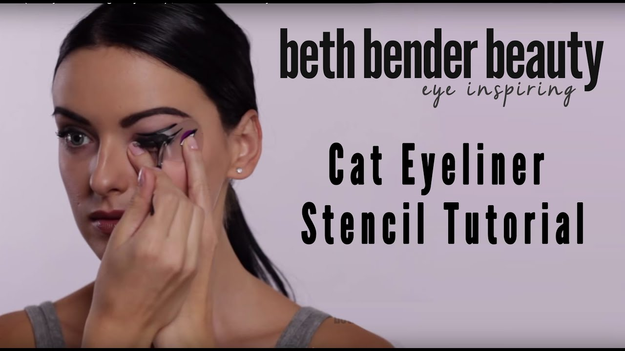 It's just an image of Remarkable Printable Eyeliner Stencil