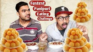 100 PANIPURI / GOLGAPPA EATING COMPETITION | Panipuri eating challenge | Shailesh the eater | Part-3