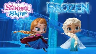 Shimmer and Shine Episode Disney Frozen Elsa and Anna