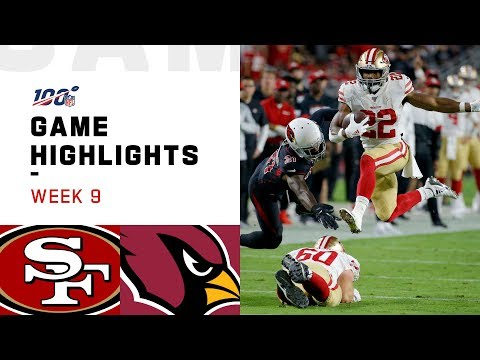 49ers vs. Cardinals Week 9 Highlights  NFL 2019