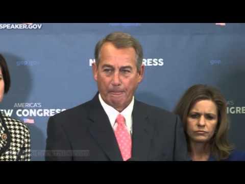 Boehner vows to stop Obama's executive overreach