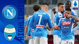 Napoli 3-1 SPAL | Mertens, Callejon & Younes Combine to Give Napoli Three Points! | Serie A TIM