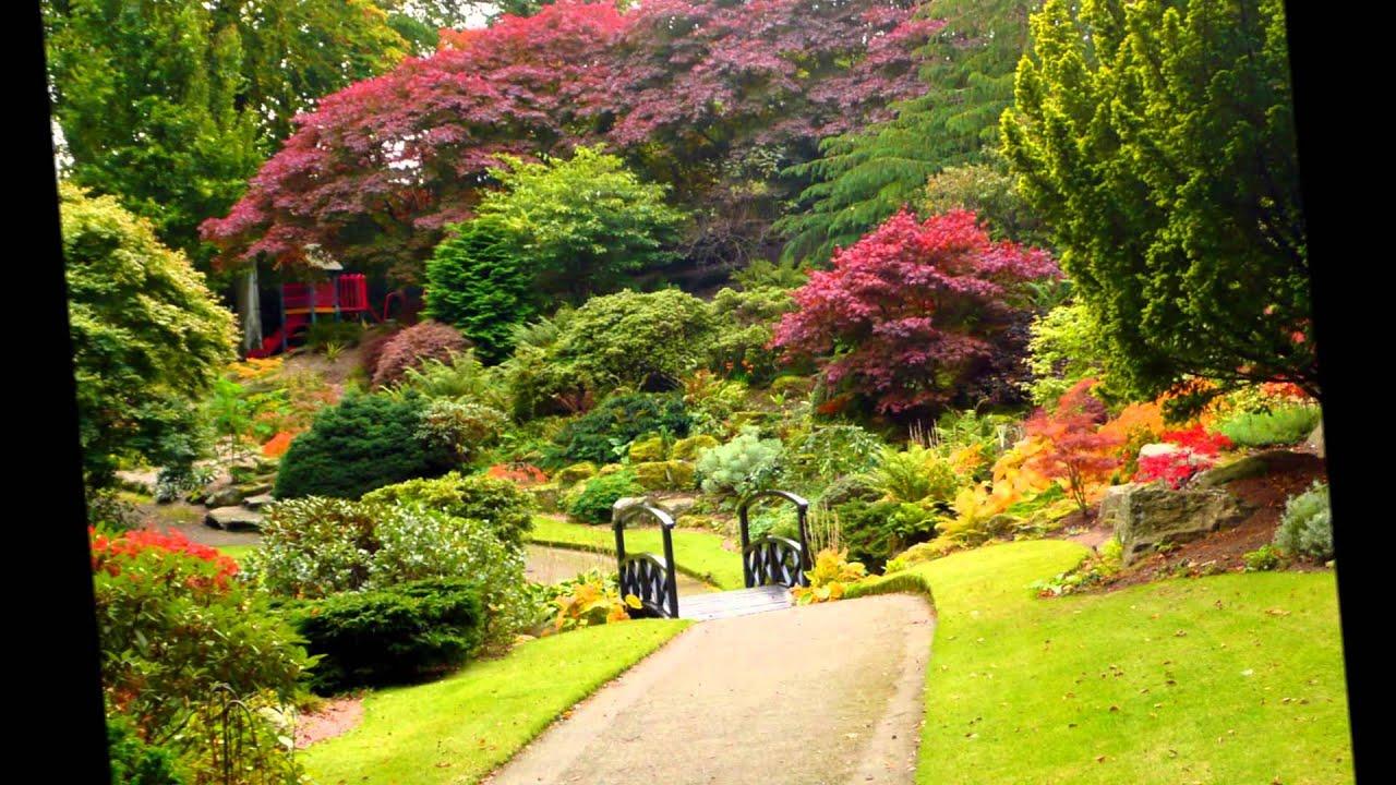Parques llenos de color hd 3d arte y jardiner a youtube for Ideas para parques y jardines
