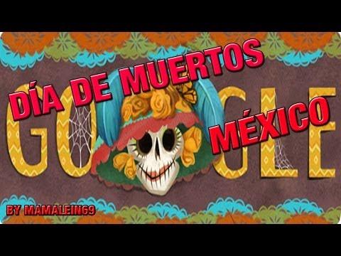 Día de muertos México (Day of the Dead) Google Doodle