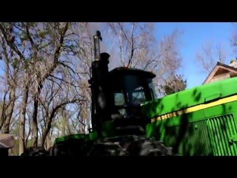 Cold Start John Deere 8960 Tractor
