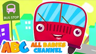 Wheels On The Bus | Wheels On The Bus Go Round And Round | Nursery Rhyme Song for Children