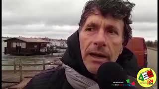 Angelo Stoppa Presidente cooperativa sul disastro in Sacca di Scardovari