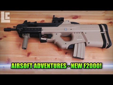 My New Airsoft G&G F2000 With RIS & Foregrip (Airsoft SC Village Viper Gameplay/Commentary)