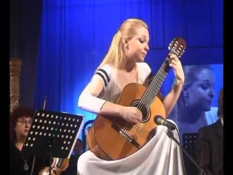 Anna Likhacheva plays Concerto Elegiaco (Leo Brouwer), 1 part