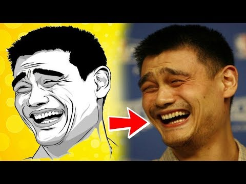 जानिए कौन है इस फोटो के पीछे छिपा असली इंसान || Yao Ming || Top Internet Sensation