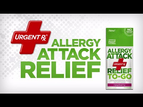 UrgentRx: Bad Things Happen Part 3 | Allergy Attack