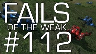 Fails of the Weak: Ep. 112 - Funny Halo 4 Bloopers and Screw Ups! | Rooster Teeth
