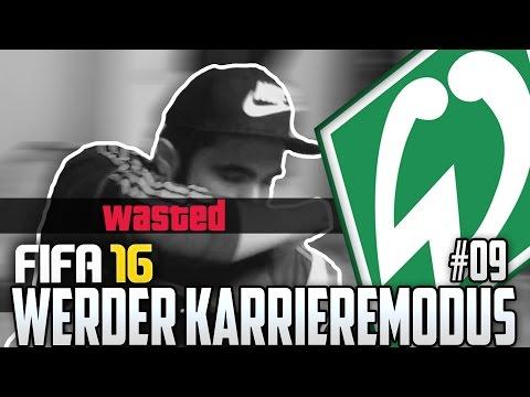 FIFA 16 KARRIEREMODUS #09 - BEIM JUBELN FAST GESTORBEN! - FIFA 16 Karriere Werder Bremen