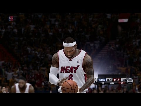 NBA Playoffs Game 1 Charlotte Bobcats VS Miami Heat 2014-04-20