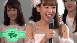 Gemesin, Tingkah Laku Haruka JKT48 Di Rumah Mama Amy 2911