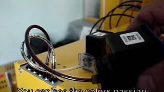 Vacuuming Black and Color Ink Cartridges Simultaneously