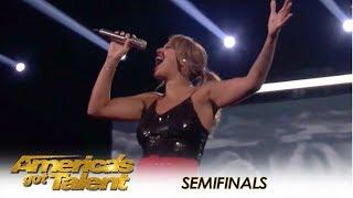 Glennis Grace: Nederlandse zanger levert ENORME halve finale prestatie! | America's Got Talent 2018
