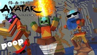 Monster School :Element Bending Challenge - Minecraft Animation