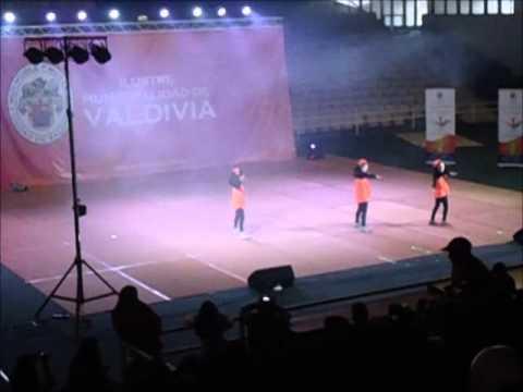 Campeonato baile entretenido Valdivia 2014