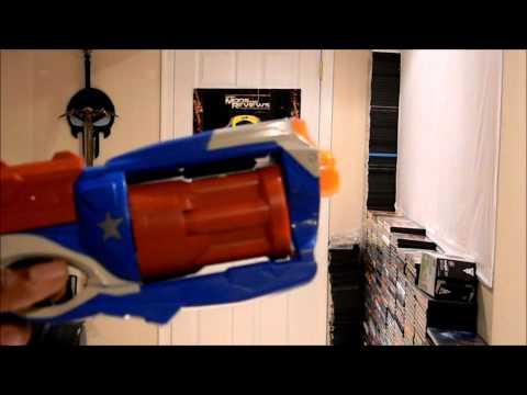 Brigade Blaster Mod (Nerf Maverick knockoff)