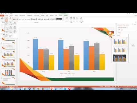 Как сделать график в microsoft powerpoint
