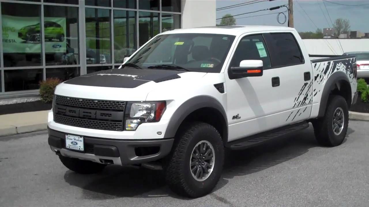 2011 ford f 150 6 2l v8 svt raptor for sale brian hoskins ford youtube. Black Bedroom Furniture Sets. Home Design Ideas