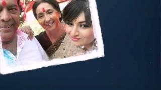 Holi celebrationsfrom the sets of yhm