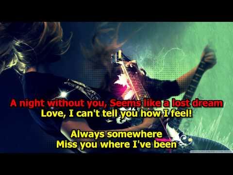 Always Somewhere - (HD Karaoke) Scorpions