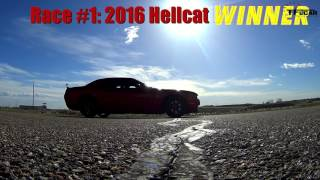 Dodge Demon Concept |  2016 Vs 2017 Hellcat Drag Race: While The Demon Is Away...the Hellcats Will