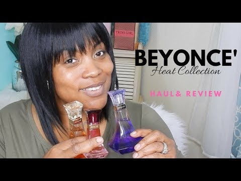 Blind Buys #1: BEYONCE HEAT Collection Part 1   Perfume Haul Reviews