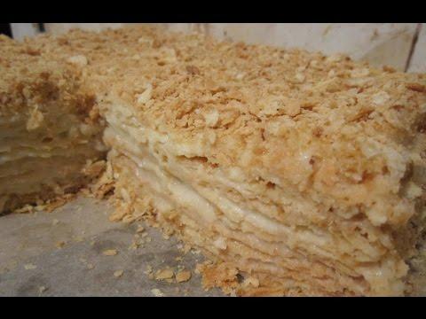 """Торт """"Наполеон"""" - классический рецепт приготовления вкусняшки"""