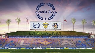 Welcome to Victoria Block: the LA Galaxy's Safe-Standing Supporters' Section